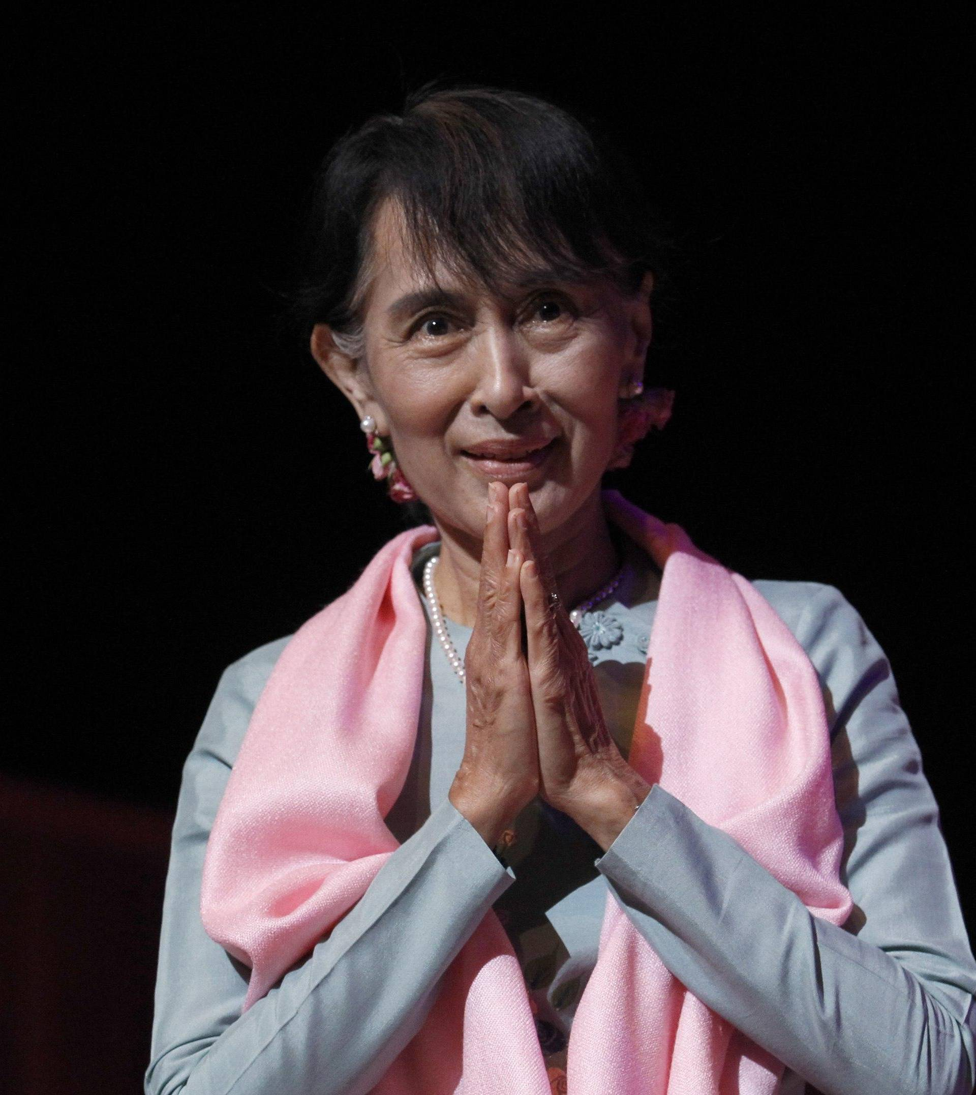 Aung San Suu Kyi visits to UK Day 4