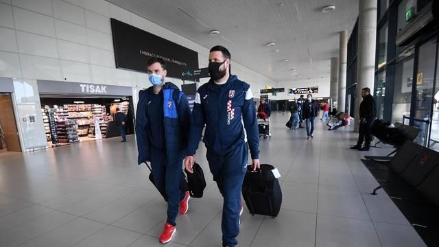 Zagreb: Povratak hrvatske rukometne reprezentacije iz Egipta