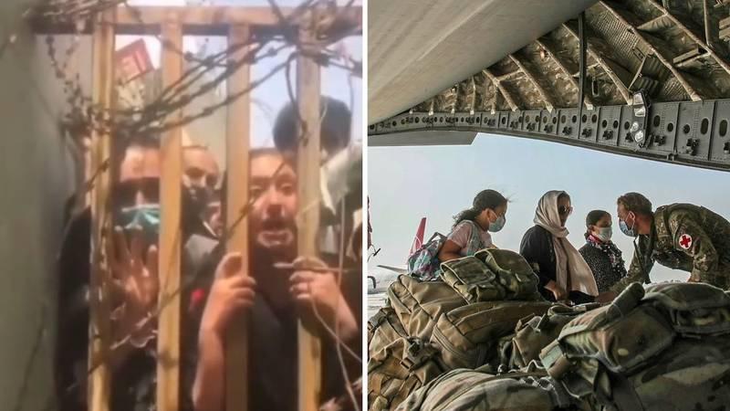 Afganistanke kroz žicu preklinju vojnike da ih spase: 'Molim vas pustite me, talibani dolaze!'