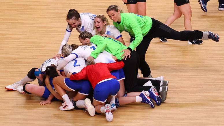 Rusija srušila moćnu Norvešku, novo finale s Francuskinjama