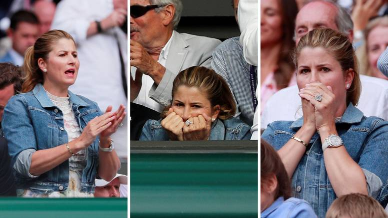 Tooo! Daaaj! Ma neeee... Mirka Federer skroz je potrošila živce