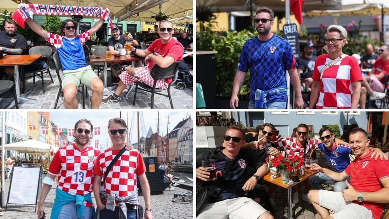 Kopenhagen je pun hrvatskih navijača: 'Prolazimo Španjolce!'