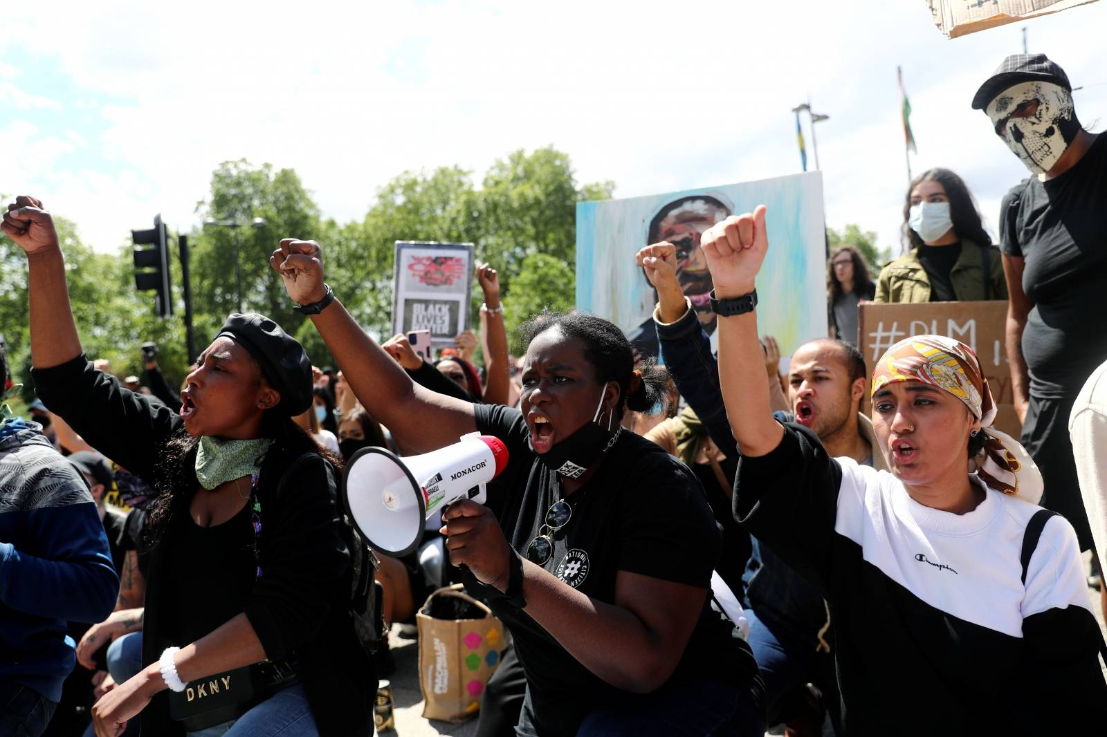 Black Lives Matter protest in London