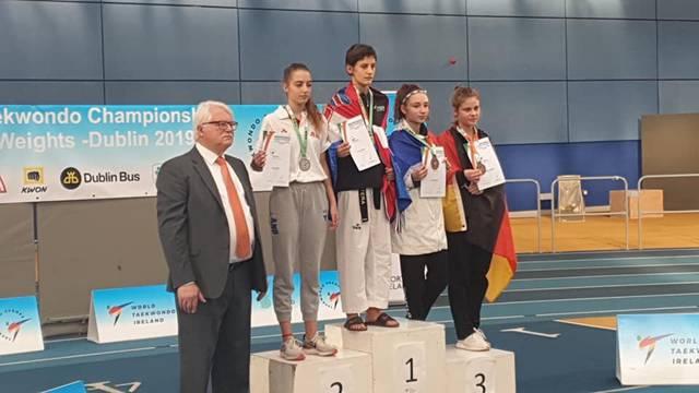 Dvije medalje za Hrvatsku na juniorskom EP-u u taekwondou