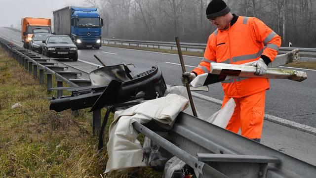 Na A3 između Broda i Županje poginuo državljanin Srbije (52)