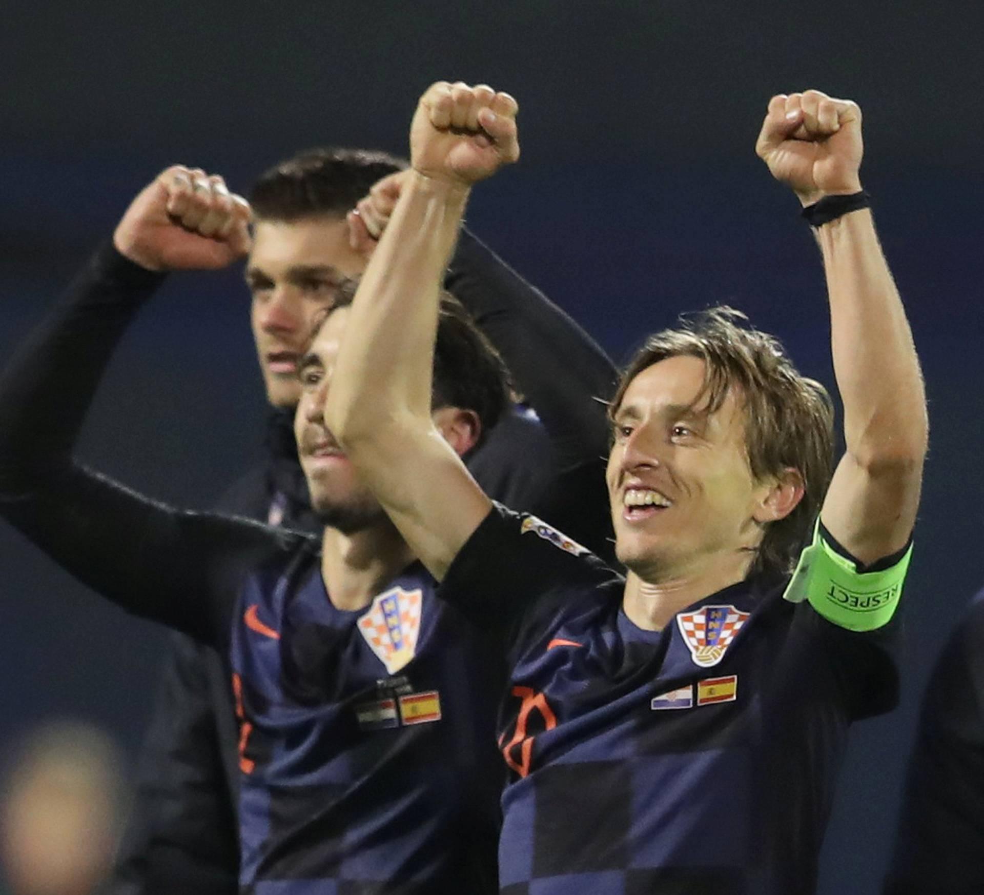 UEFA Nations League - League A - Group 4 - Croatia v Spain