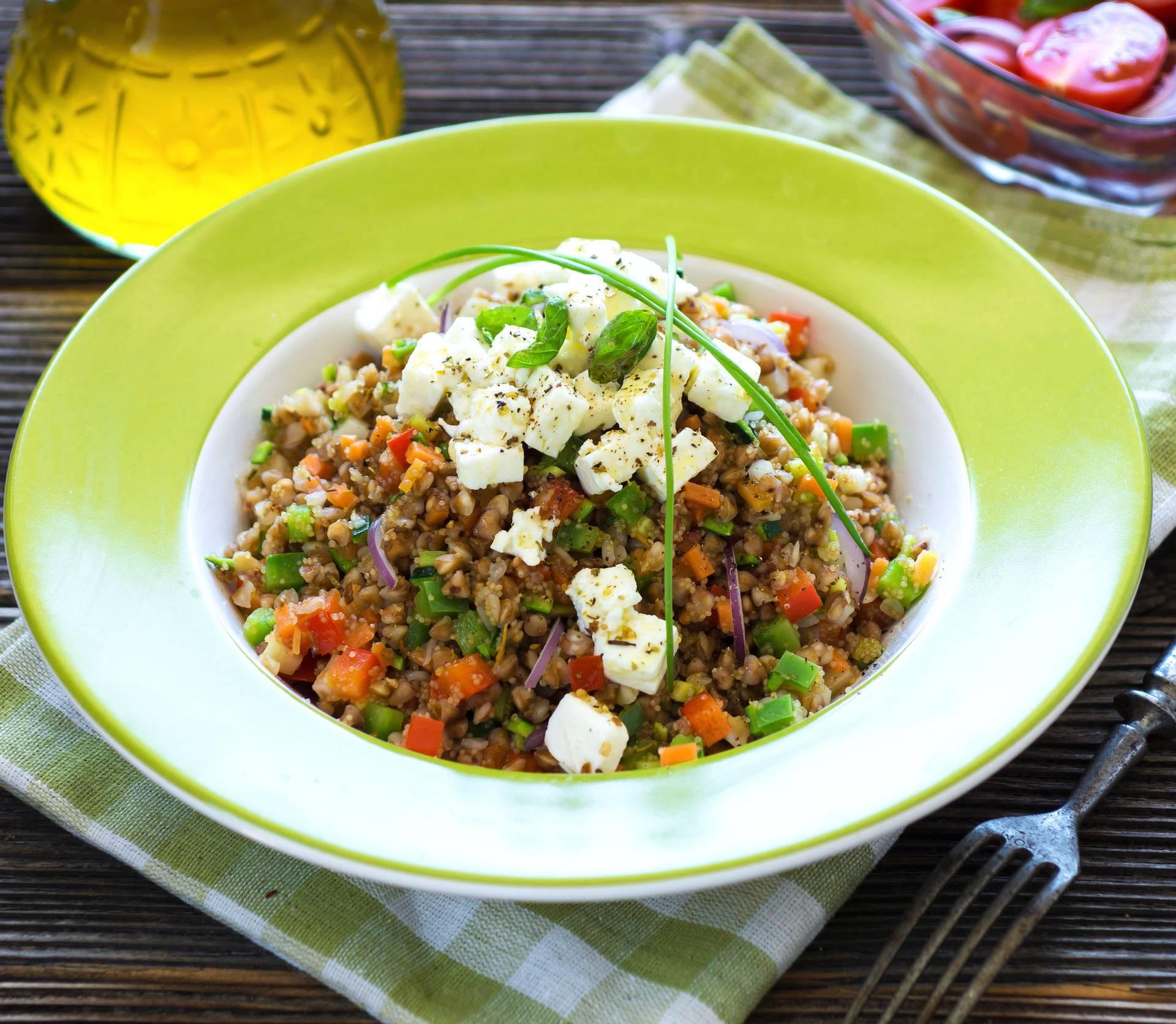 Ljetni osvježavajući zalogaji: Heljda s amarantom i paprikom