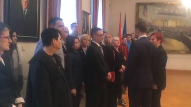 Predsjednik Sabora primio je dobitnike 'Ponosa Hrvatske'