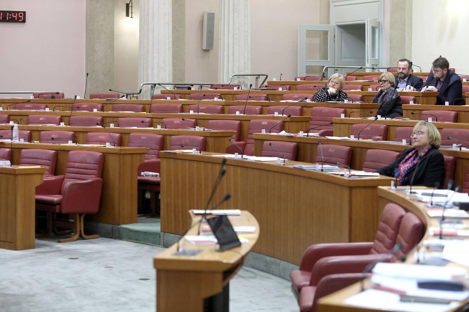 Zagreb: Sabor raspravlja o Prijedlogu zakona o neprocijenjenom građevinskom zemljištu