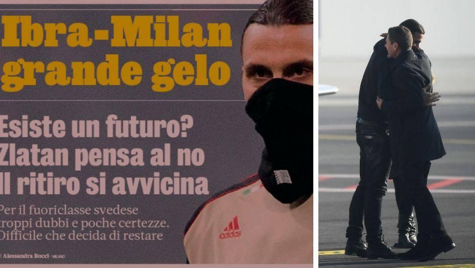 Zlatana ne zanima Milan bez Bobana, bliži se kraj karijere