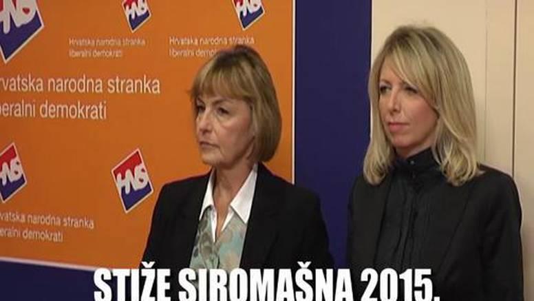 Vesna Pusić najavila: 'U 2015. slijede rezovi u javnom sektoru'