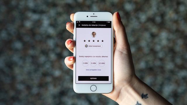 Uber u svoju aplikaciju uveo mogućnost davanja napojnice