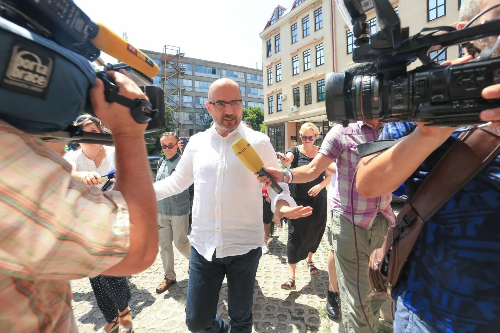 Milijan Brkić na Općinskom državnom odvjetništvo u Osijeku zbog afere prisluškivanja