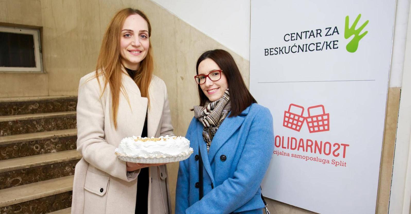 Marina Boroz i Ana Munitic, dvije Splicanke koje peku torte za rodendane beskucnika