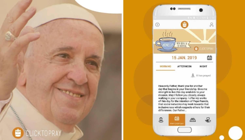 Papa Franjo pokrenuo je novu aplikaciju: Molitva na mobitelu