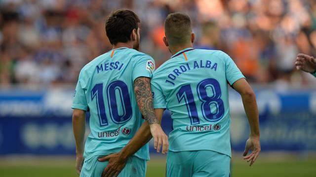 Spanish La Liga Santander - Deportivo Alaves vs FC Barcelona