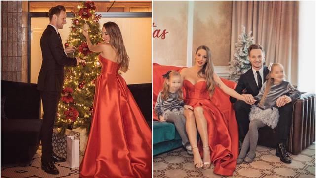 Raskošnom haljinom prekrila je kauč: Raquel kiti bor s Ivanom