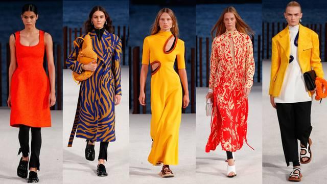 Modni brend Proenza Schouler predlaže snažne vizualne efekte