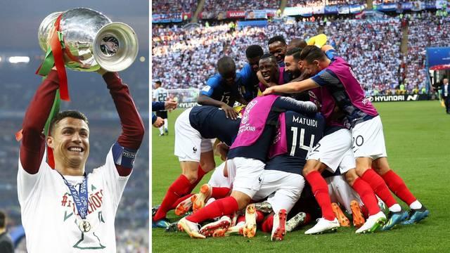Ronaldo na utakmici protiv Mađara lovi svjetski rekord, a svjetski prvaci idu na Nijemce