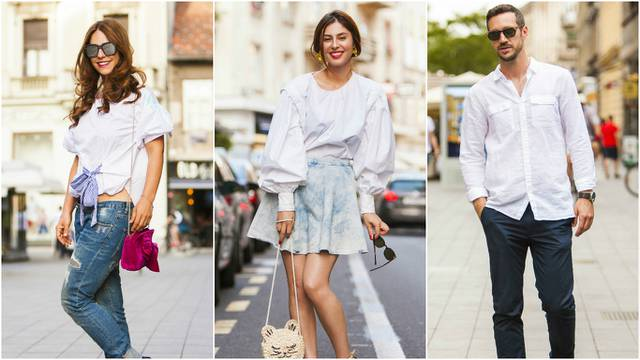 Klasika nije dosadna: Nosi im se bijela boja za šetnju špicom
