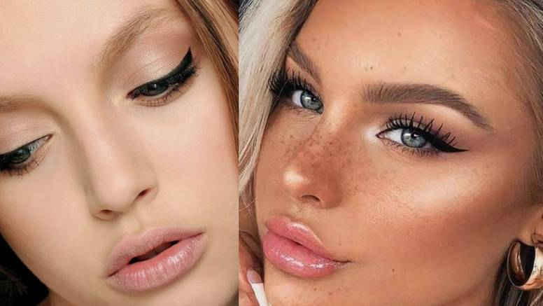 Glamurozna crna linija: Make-up igra koja naglašava pogled