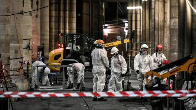 Nastavlja se obnova izgorjele katedrale Notre Dame u Parizu