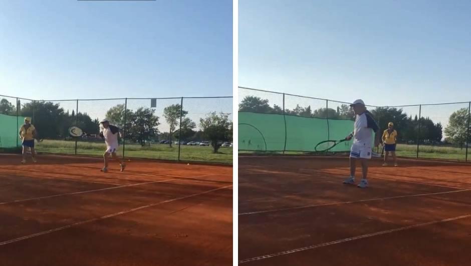 On ima 94 godine i igra teniski turnir u Umagu: Želim pobjedu!