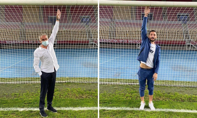 Cirkus u Skoplju: Mourinho je stao na gol i skužio da je nizak