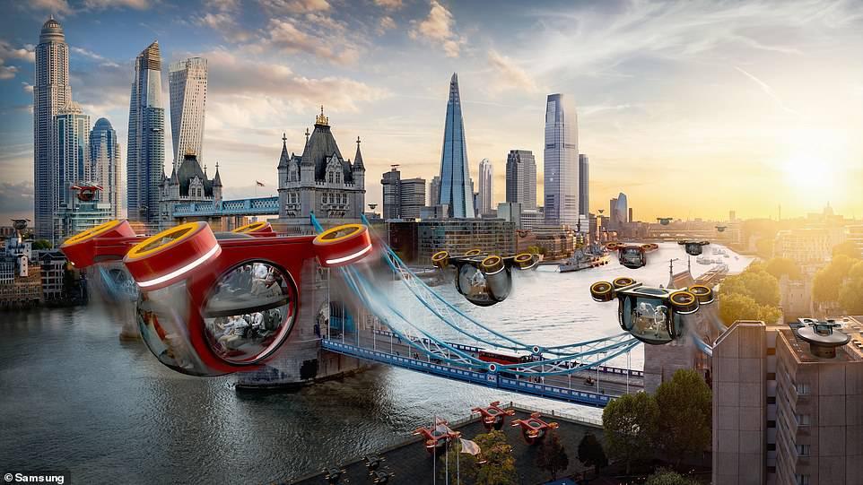Svijet za 50 godina: Godišnji u svemiru, leteći taksiji i busevi