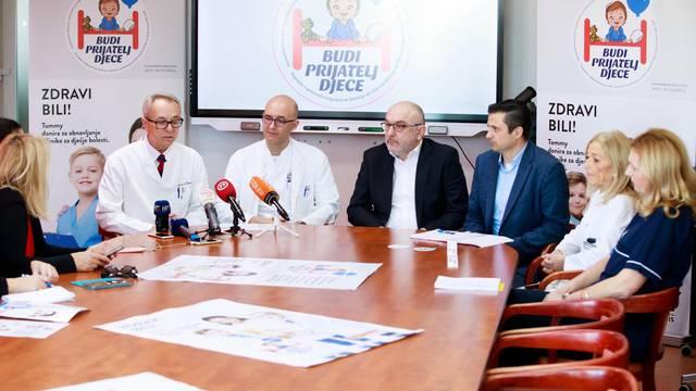 "Split: Tommy predstavio humanitarni projekt ""Budi prijatelj djece"" za KBC Split"