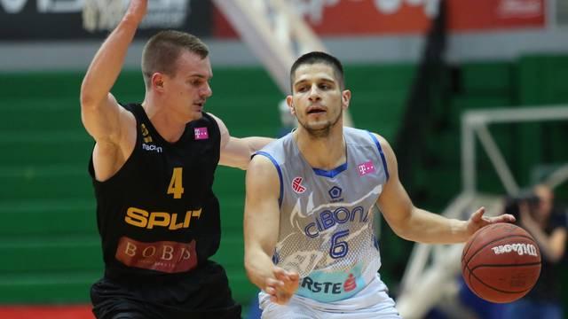 Zagreb: Prva utakmica polufinala HT Premijer lige, KK Cibona - KK Split