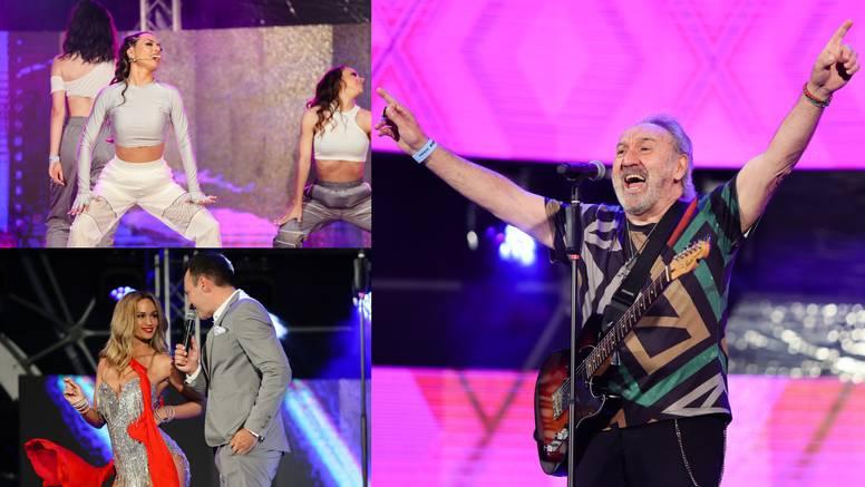 Drugu večer CMC festivala u Vodicama publiku je zabavljalo više od 50 poznatih izvođača...