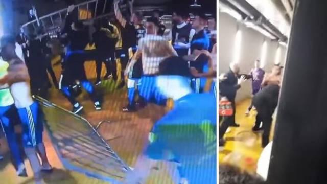 Opći kaos u Brazilu: Nogometaši Boce potukli se s protivnicima i policijom, privela ih osmoricu!
