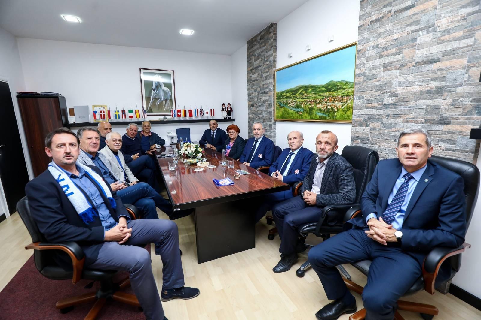 Svečani prijem delegacije Dinama u općini Žepće