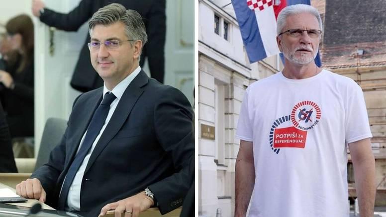 """Plenković: Zahtjeve inicijative """"67 je previše"""" prihvatit ćemo"""