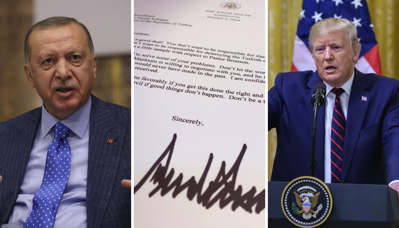 Trump je pisao Erdoganu: 'Ne budite blesavi, ne budite grubi'