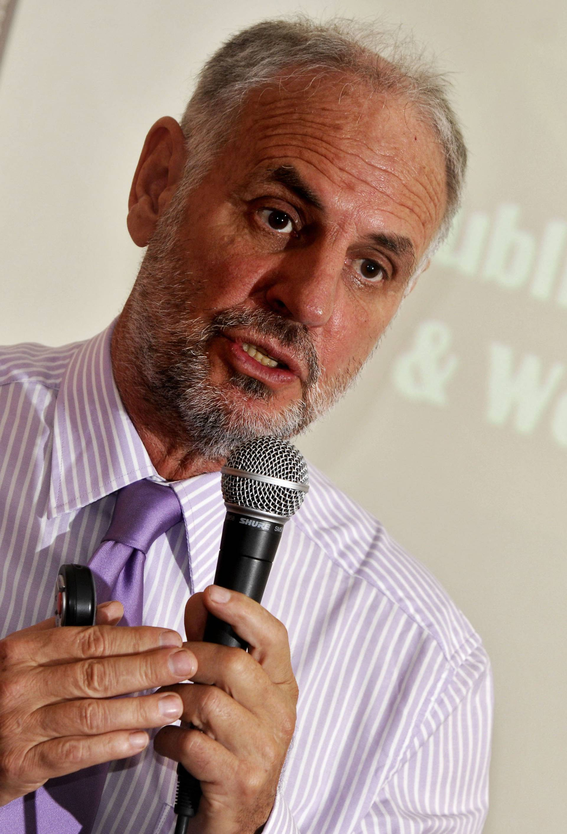'Dr Death' Dr Philip Nitschke at the Opening of His 'Suicide Workshop' in Bournemouth, Dorset, Britain - 05 May 2009