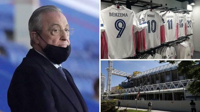 Reportaža iz Madrida: Čeka se nova odluka i obraćanje Pereza, Bernabeu se ubrzano obnavlja