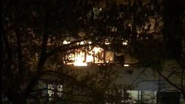 Požar u stanu na Jarunu izbio zbog tehničkog kvara na kablu
