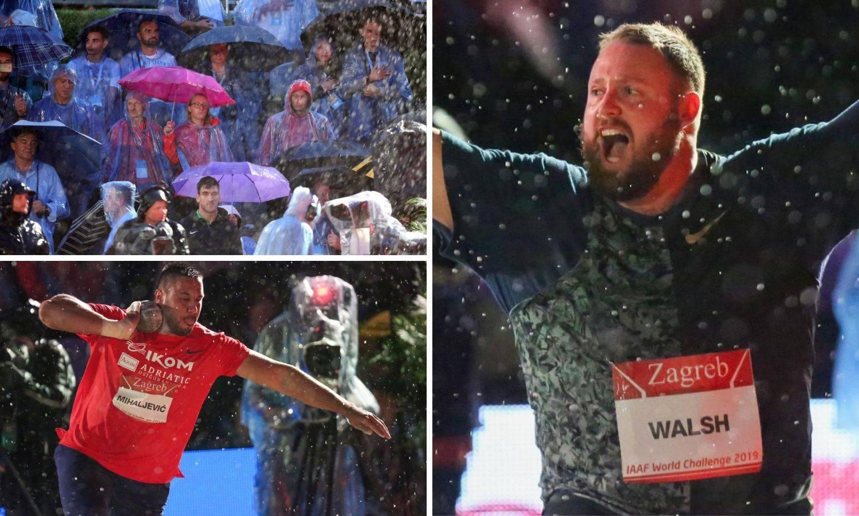 Kiša nije spriječila bacače: Tom Walsh pobijedio na memorijalu