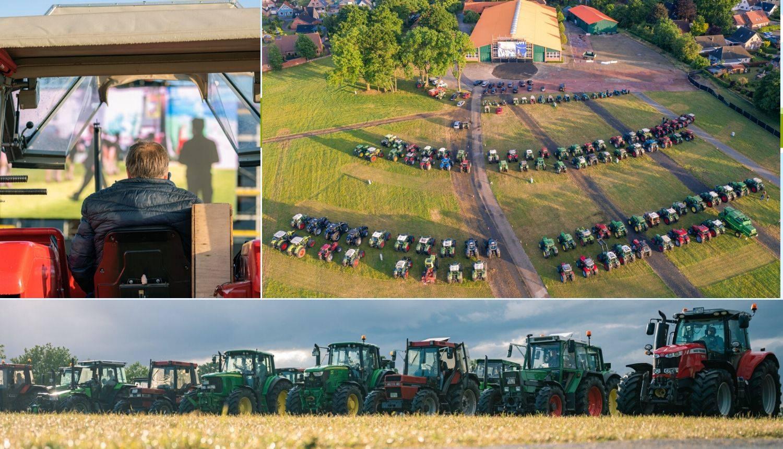 Ovo još niste vidjeli: Drive-in kino za traktoriste u Njemačkoj