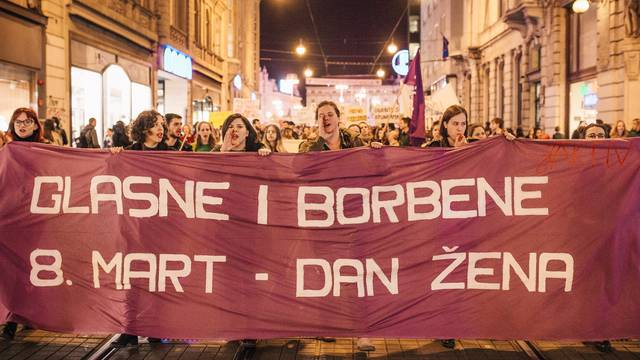 Noćni marš u Zagrebu: Vrijeme je da napokon kažemo DOSTA