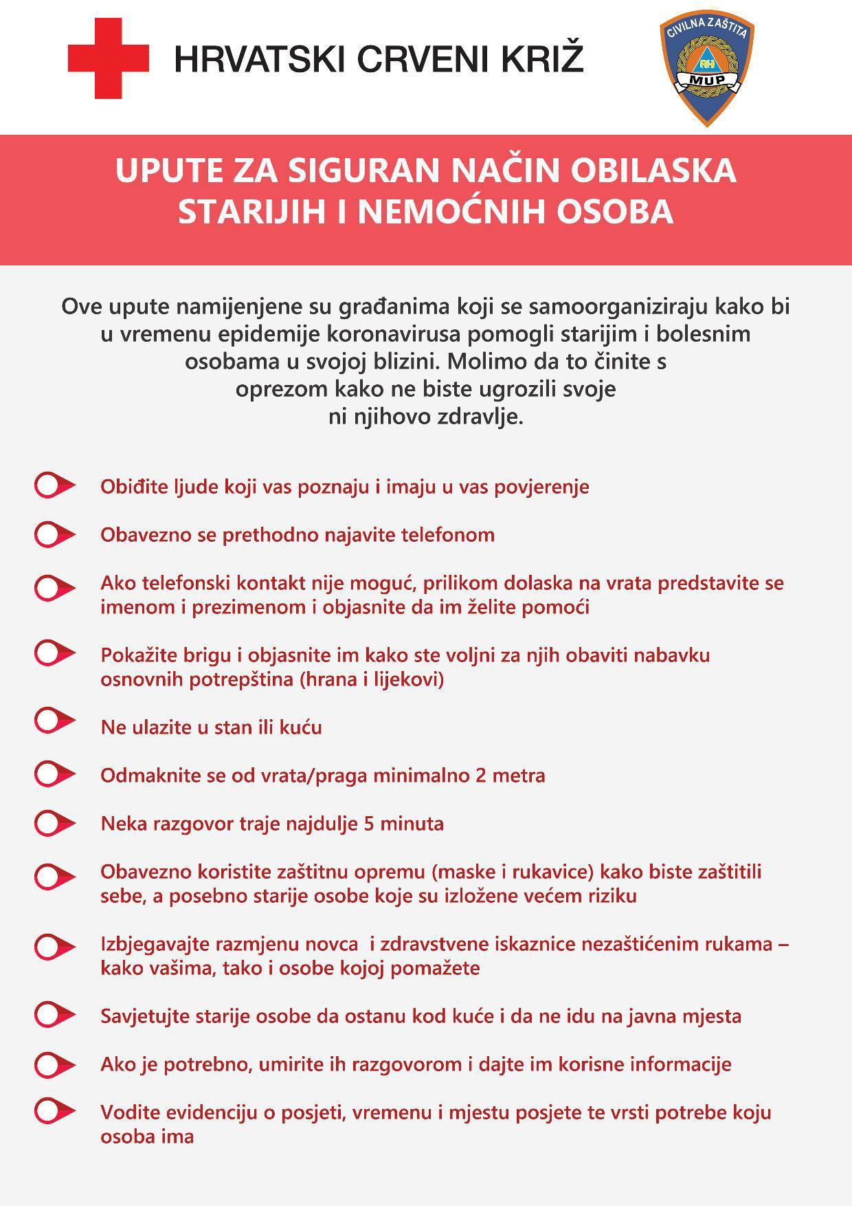 Upute: Županije u kojima nema propusnica, mjere za restorane
