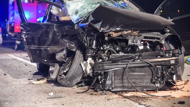 Užas na Grobničkom polju: U sudaru teško ozlijeđeni vozači