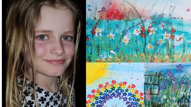 Daisy (10) je mini Monet: Slike prodaje po cijelom svijetu, a sve novce daje u humanitarne svrhe