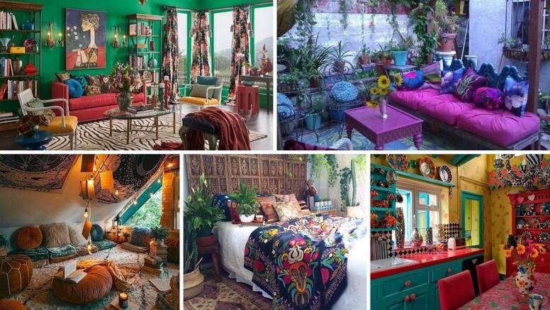 Uredite svoj dom u pomalo boemskom stilu i unesite radost