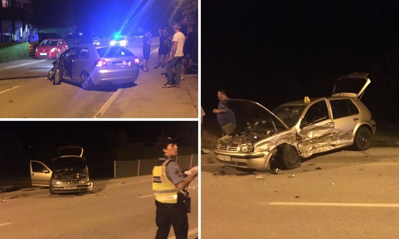 Pijan pokosio ograde i udario u auto, djevojka završila u bolnici