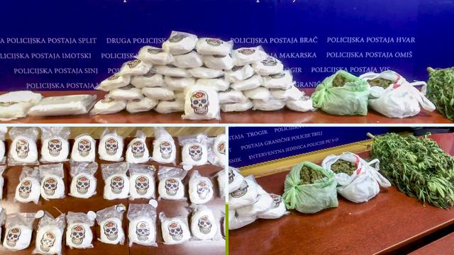 Najveća zapljena amfetamina u povijesti Hrvatske! U splitskom stanu pronašli su 35 kilograma