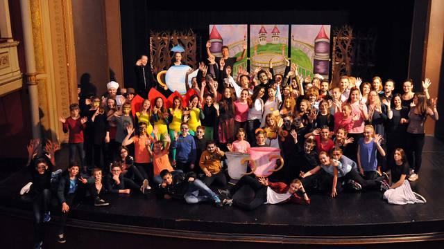 Više od 170 đaka napravilo je mjuzikl u varaždinskom HNK