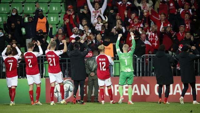 World Cup - UEFA Qualifiers - Group F - Moldova v Denmark